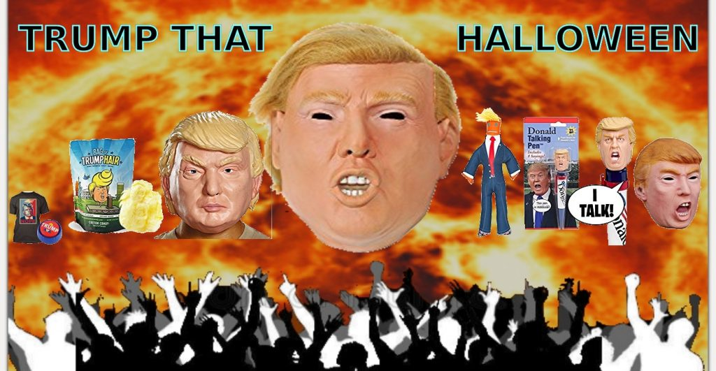 Resist President Trump Halloween costume best mask